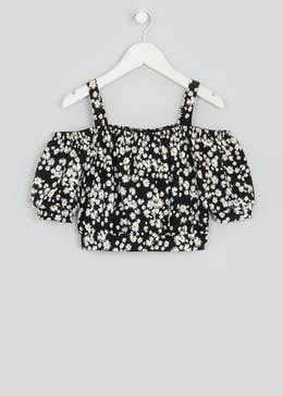 Girls Candy Couture Daisy Co-Ord Top (9-16yrs)