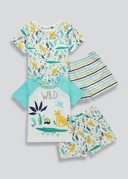 Kids 2 Pack Short Pyjamas (9mths-5yrs)