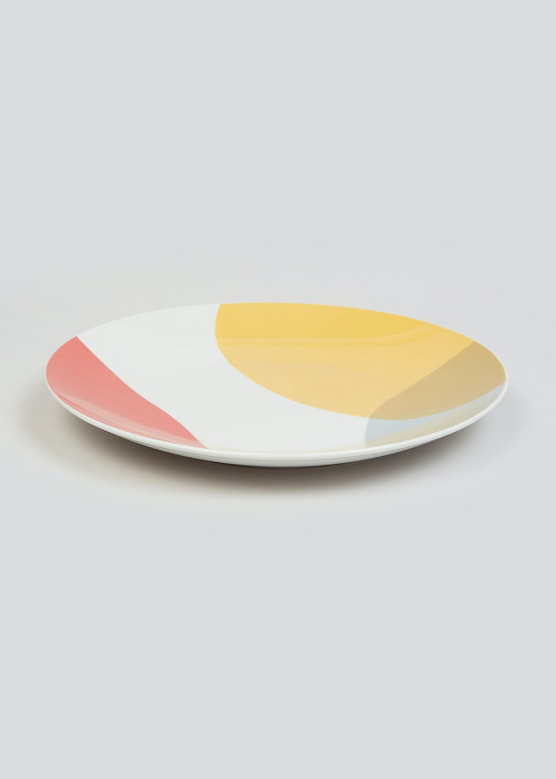 Abstract Print Dinner Plate (27cm)