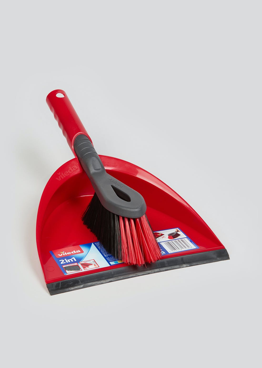 Vileda Dustpan & Brush (34cm x 13cm)