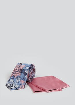 Taylor & Wright Floral Tie & Pocket Square