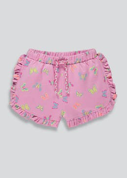 Girls Side Frill Butterfly Short (9mths-6yrs)