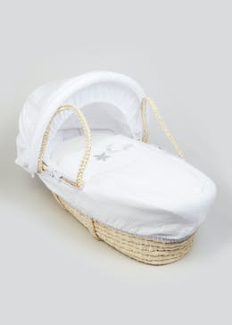 Moon & Star Moses Basket