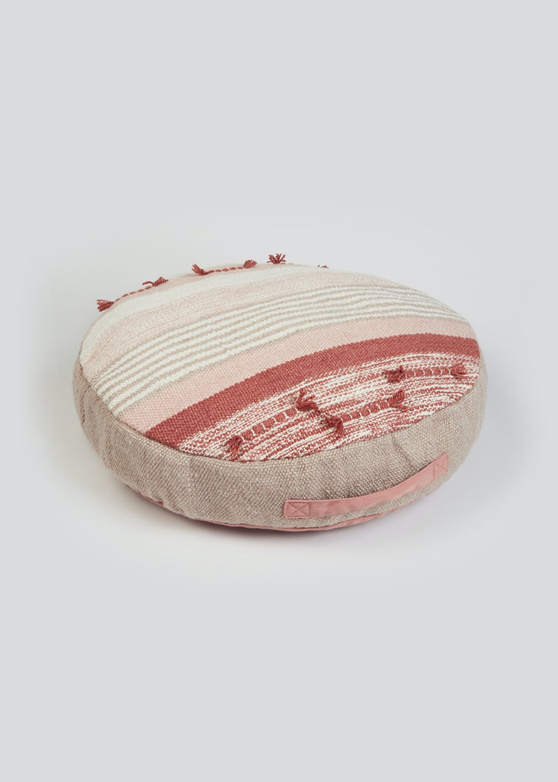 Textured Stripe Outdoor Floor Cushion (59cm)