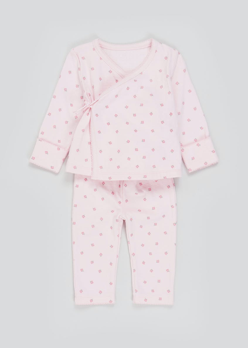 Girls 2 Piece Floral Set (Tiny Baby-9mths)