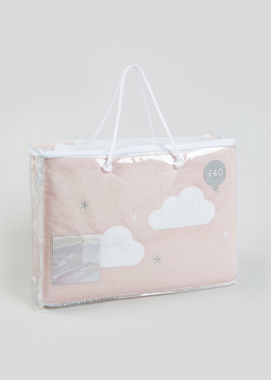 Cloud Cot Bed Set (One Size)