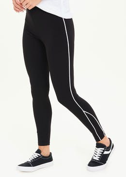 Piped Side Leggings