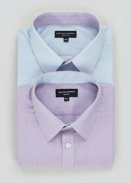 Taylor & Wright 2 Pack Regular Fit Short Sleeve Shirts