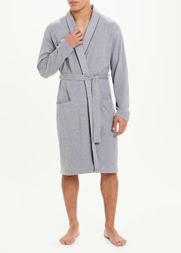 Waffle Cotton Dressing Gown