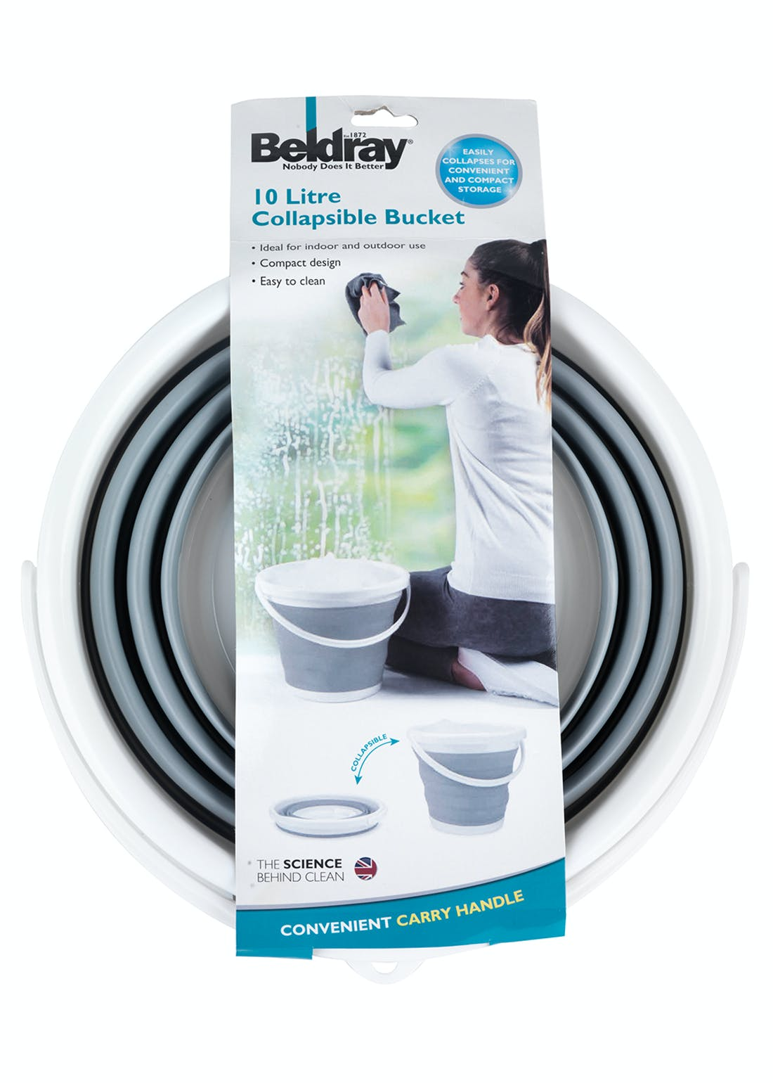 Beldray Collapsible Bucket (10L)