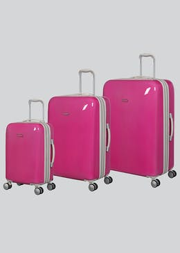 IT Luggage Sheen Hard Shell Suitcase
