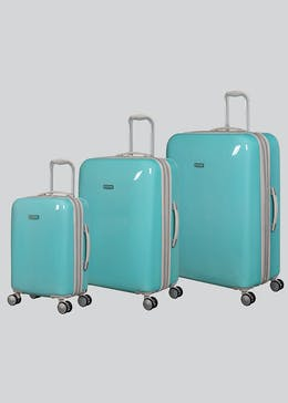 IT Luggage Hard Shell Sheen Suitcase