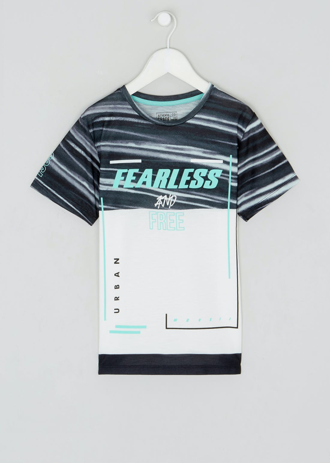 Boys Fearless & Free T-Shirt (9-16yrs)
