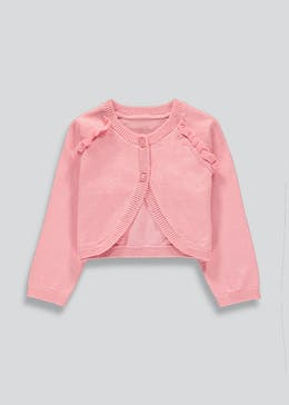 Girls Bolero Cardigan (Newborn-23mths)