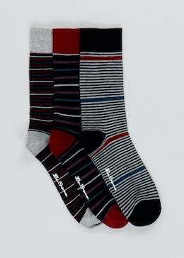 3 Pack Ben Sherman Socks