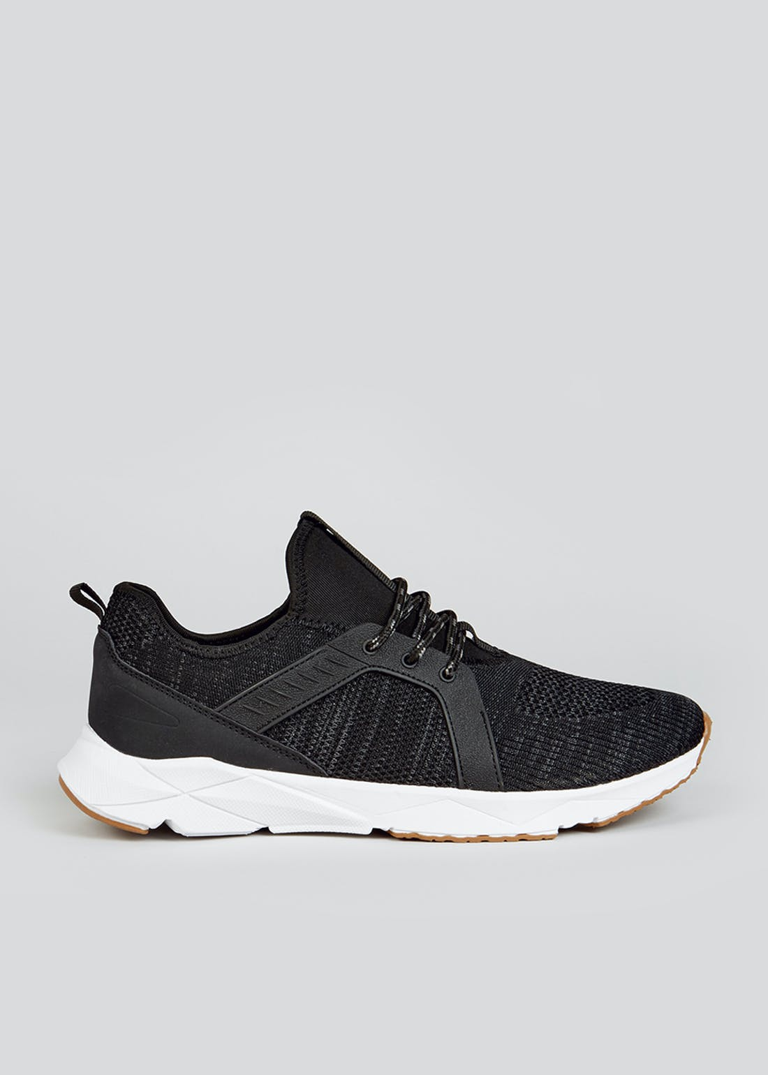 Black Dual Density Trainers