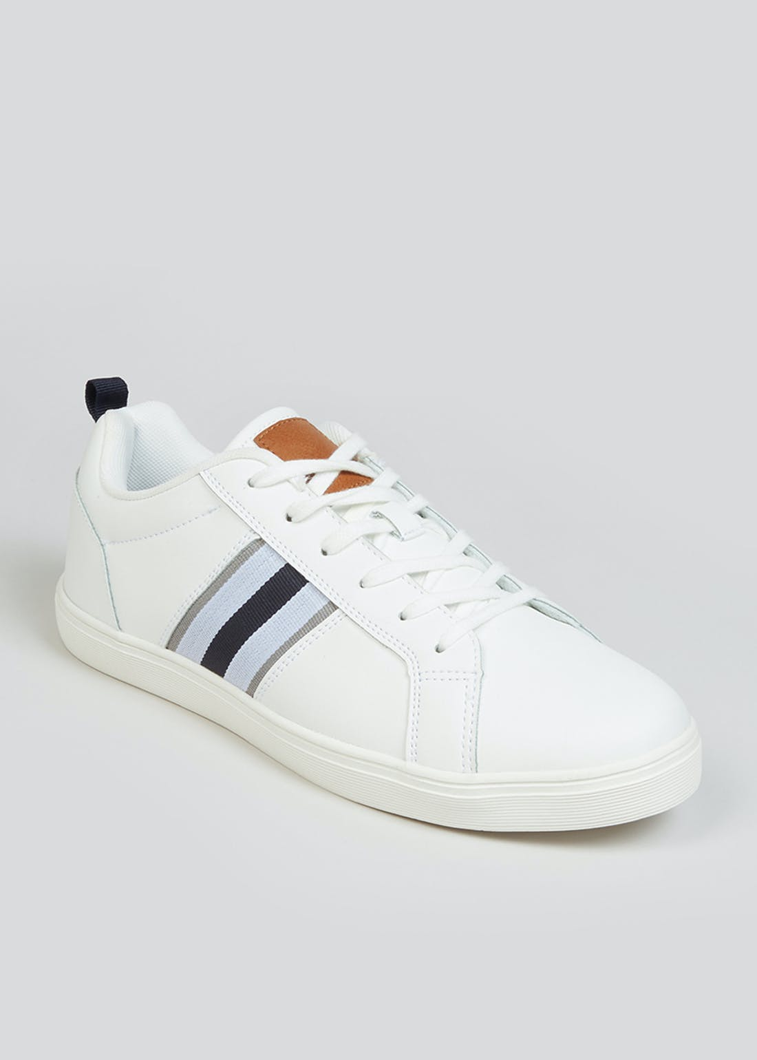 White Cupsole Trainers