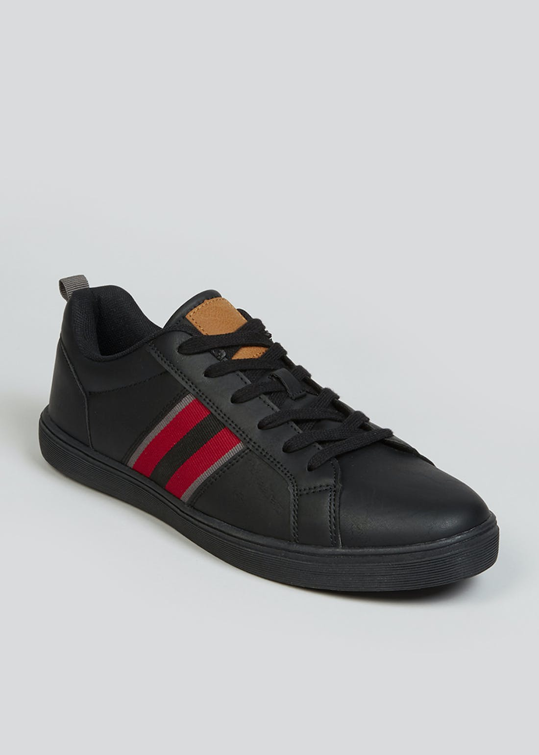 Black Cupsole Trainers