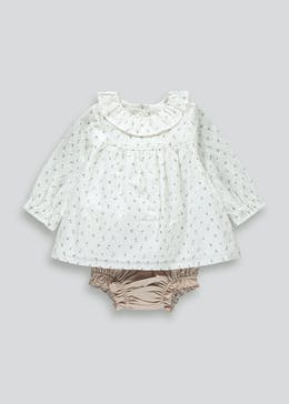 Unisex Blouse & Knickers Set (Tiny Baby-23mths)