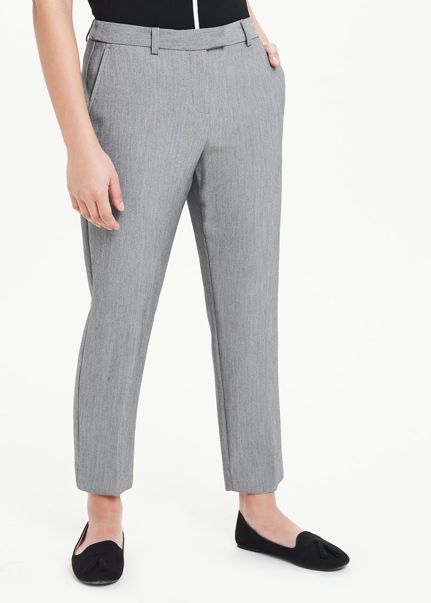 Papaya Petite Tapered Suit Trousers