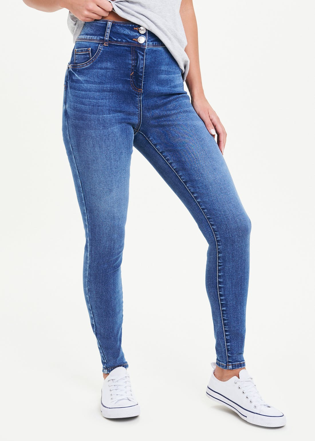 April Push Up Super Skinny Jeans