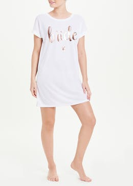 Bride Slogan Nightie