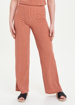 Stripe Wide Leg Co-Ord Trousers