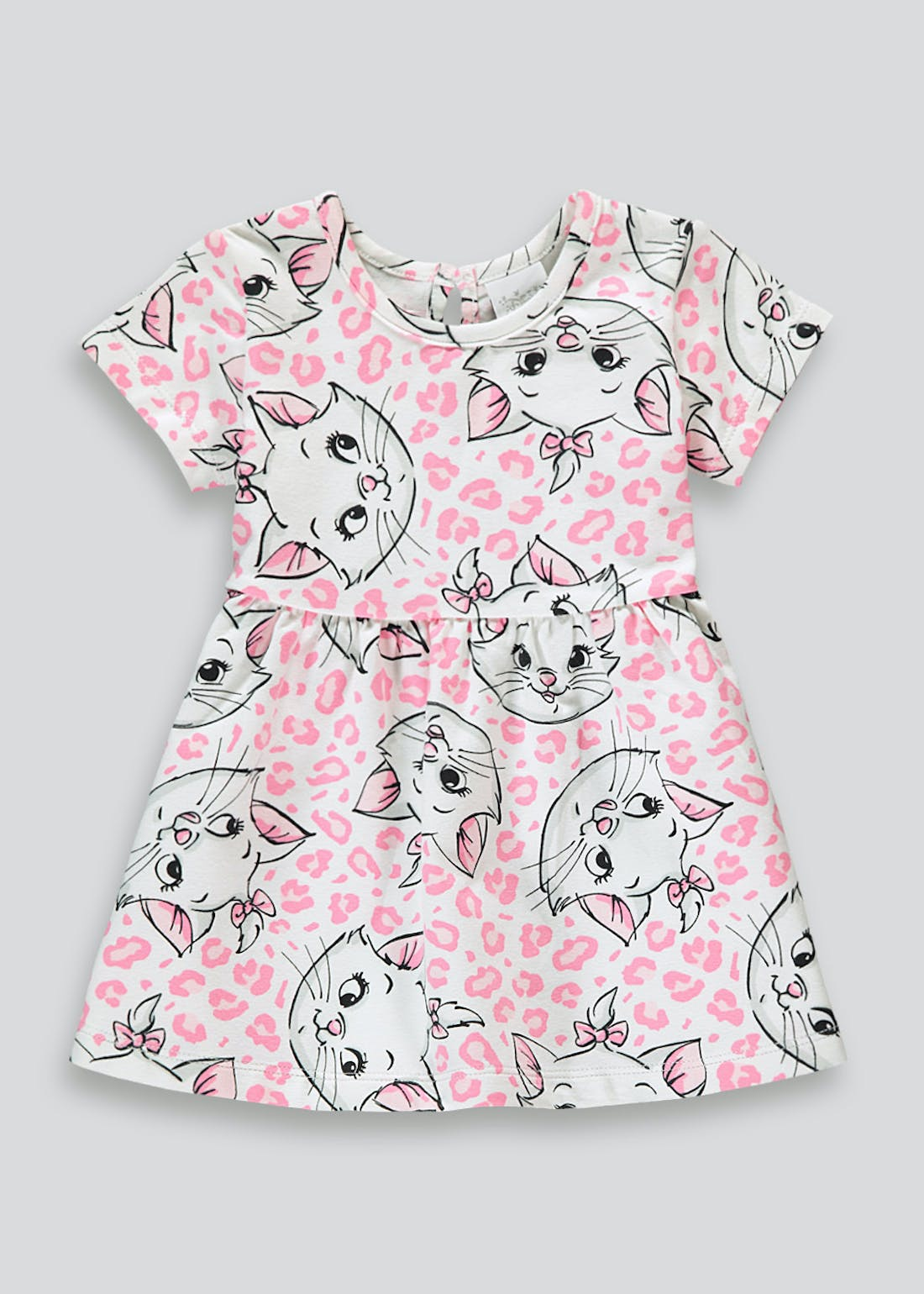 Girls Disney Aristocats Marie Dress (Newborn-18mths)