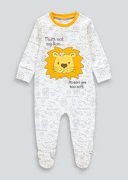 Unisex That's Not My Lion Baby Grow (Newborn-12mths)