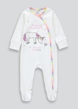 Unisex That's Not My Unicorn Baby Grow (Newborn-12mths)