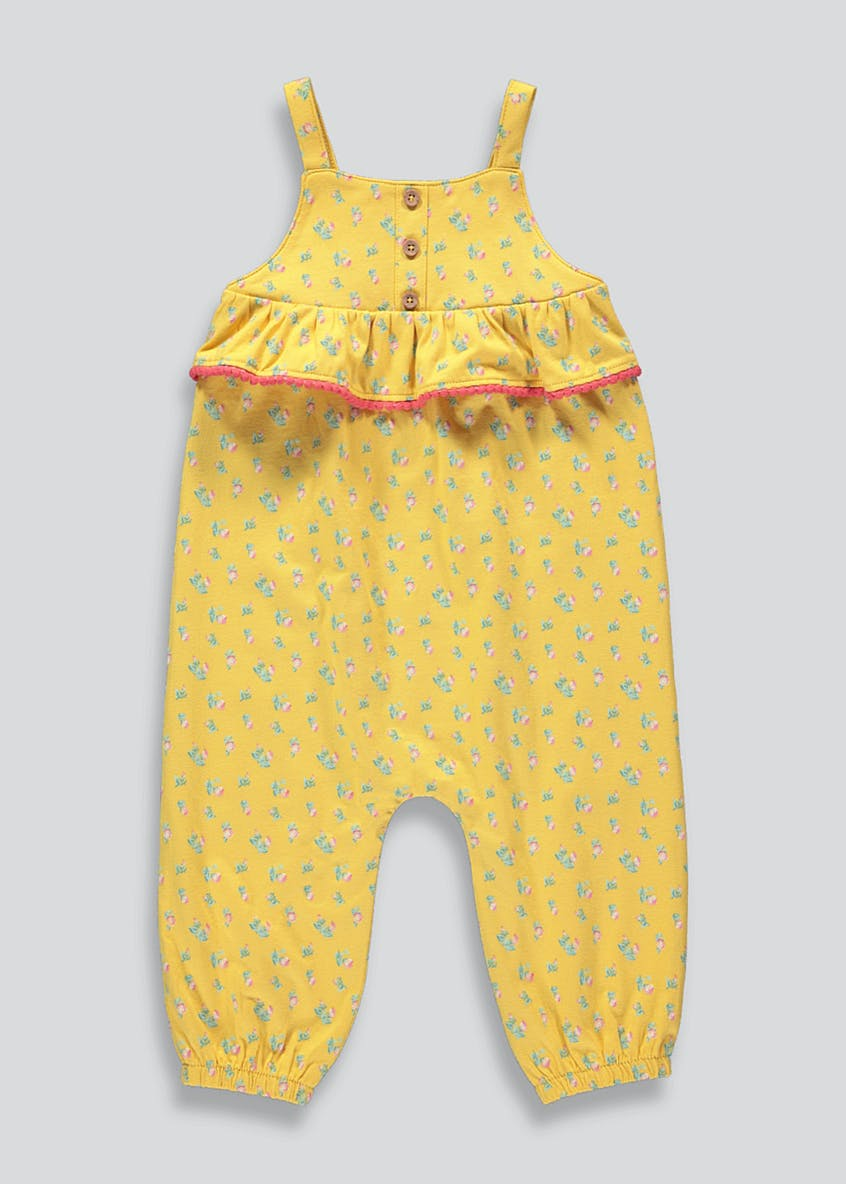 Girls Floral Cami Jumpsuit (9mths-6yrs)