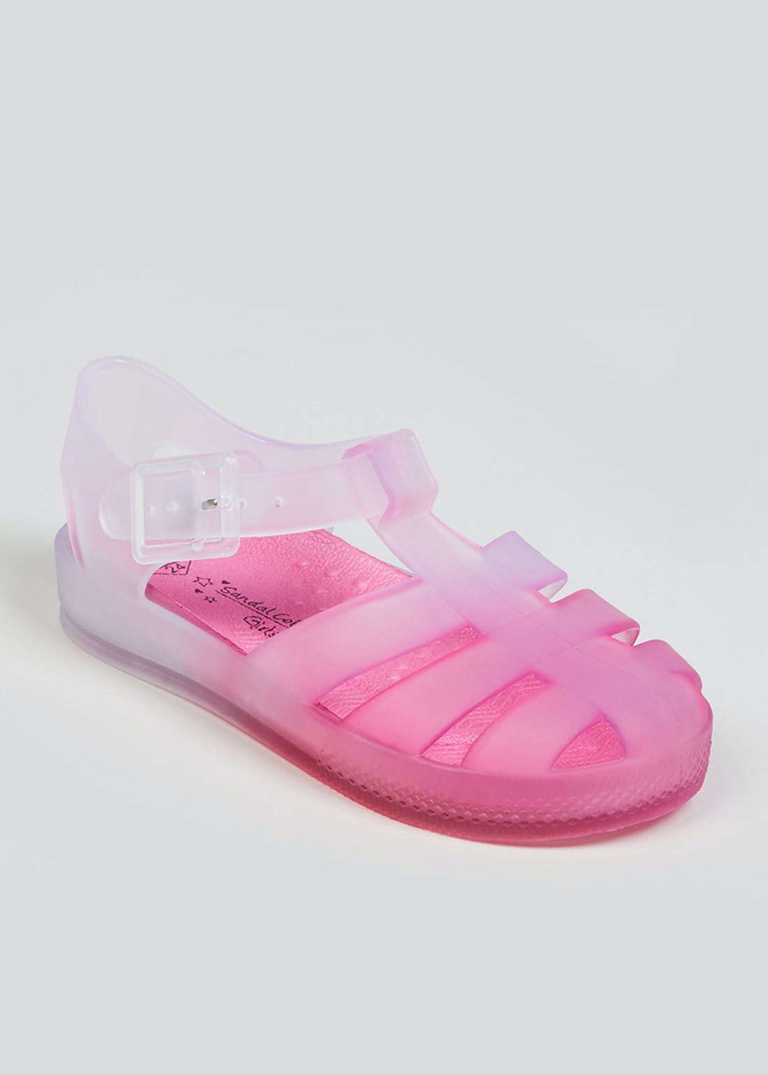 Girls Pink Jelly Shoes (Younger 4-12)