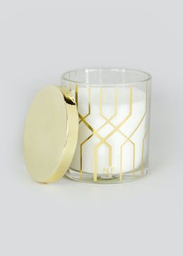 Farhi by Nicole Farhi Mayfair Jasmine & Orange Candle (9cm x 8cm)