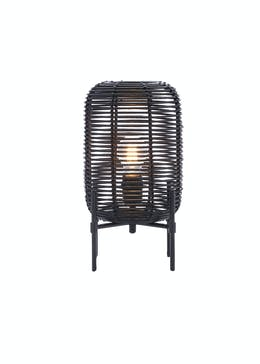 Rattan Table Lamp (H28cm x W20cm)
