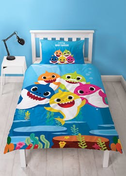 Kids Baby Shark Duvet Cover (Single)