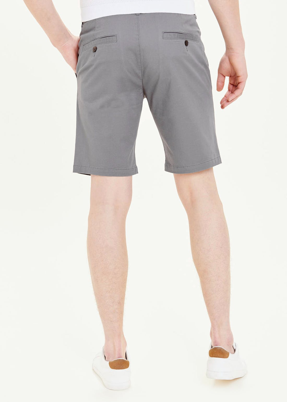 Big & Tall Straight Fit Stretch Chino Shorts