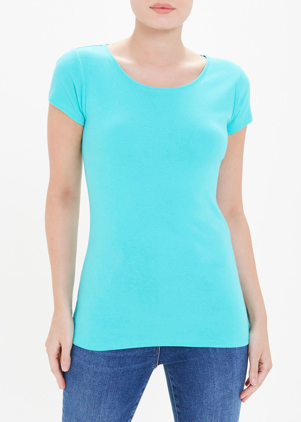 Perfect Short Sleeve T-Shirt – Turquoise