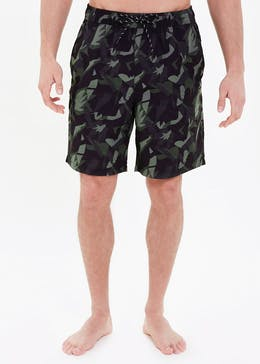 Basic Camo Cargo Swim Shorts