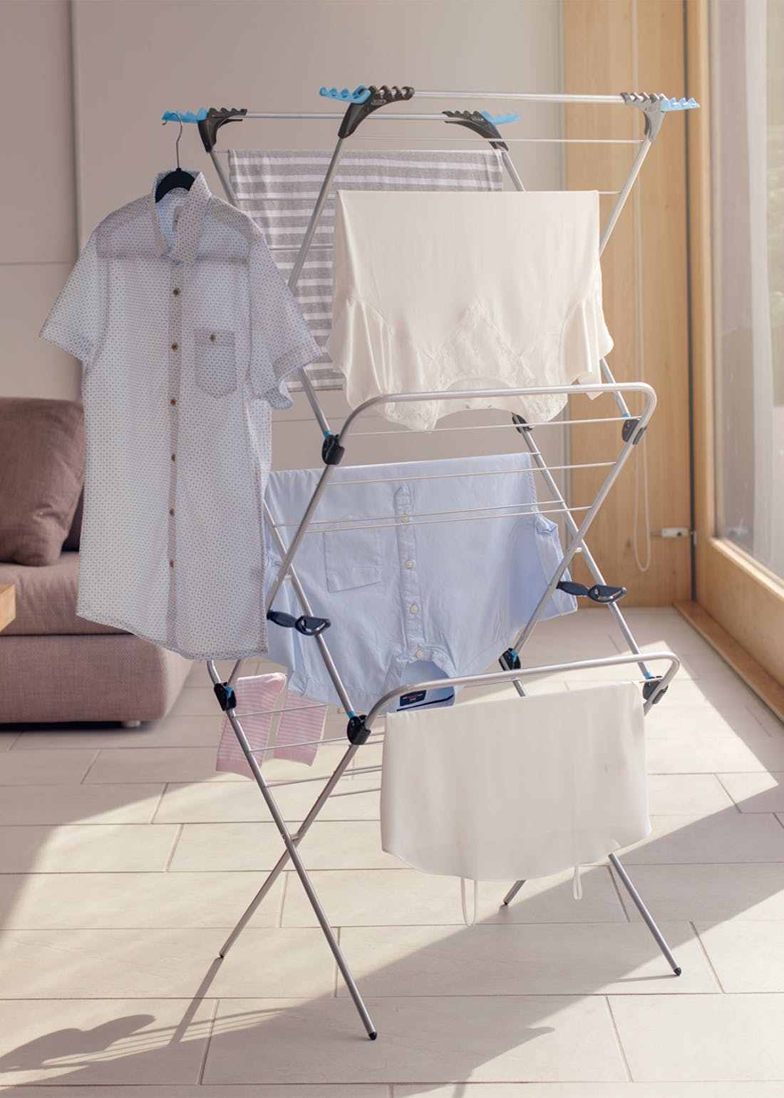 Minky 3 In 1 Airer (60cm x 80cm x 8cm)