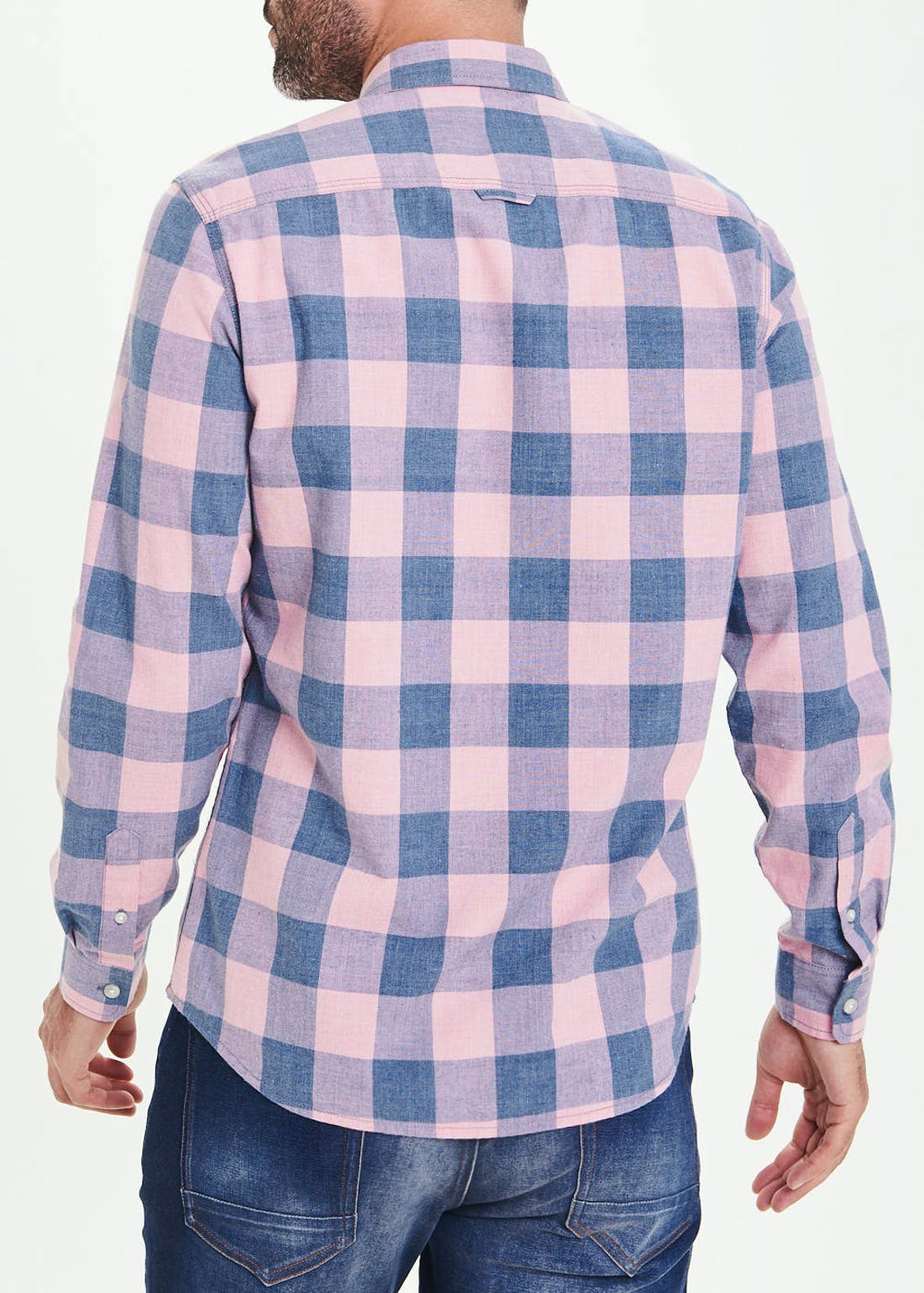 Morley Slim Fit Flannel Shirt
