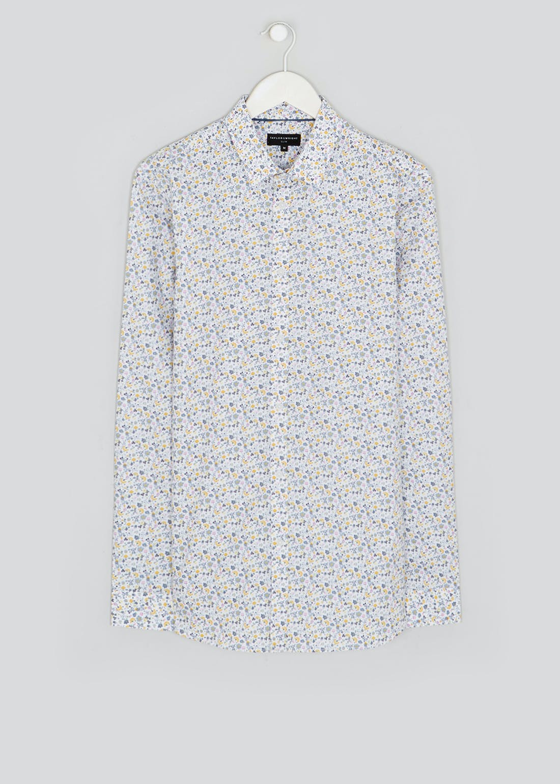 Taylor & Wright Long Sleeve Slim Fit Floral Shirt