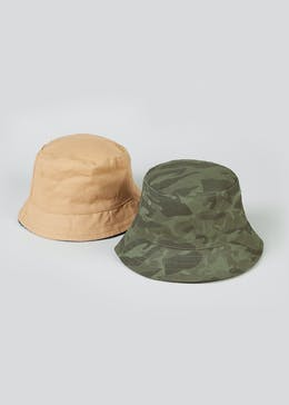Boys 2 Pack Sun Hats (7-13yrs)