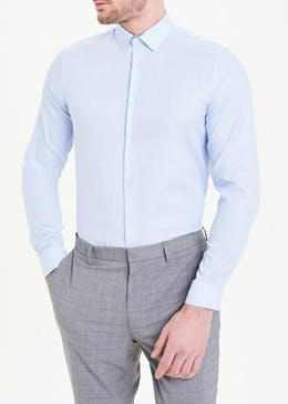 Taylor & Wright Long Sleeve Slim Fit Oxford Shirt