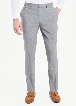 Taylor & Wright Vicars Slim Fit Check Trousers