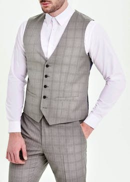 Taylor & Wright Webb Tailored Fit Suit Waistcoat