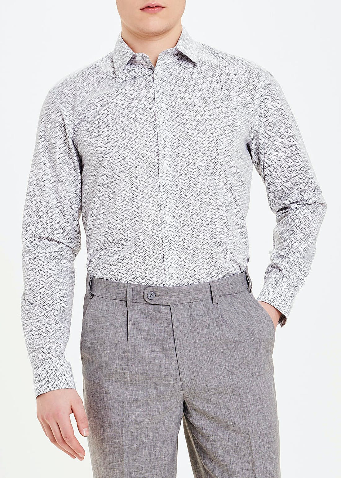 Taylor & Wright 2 Pack Regular Fit Long Sleeve Shirts