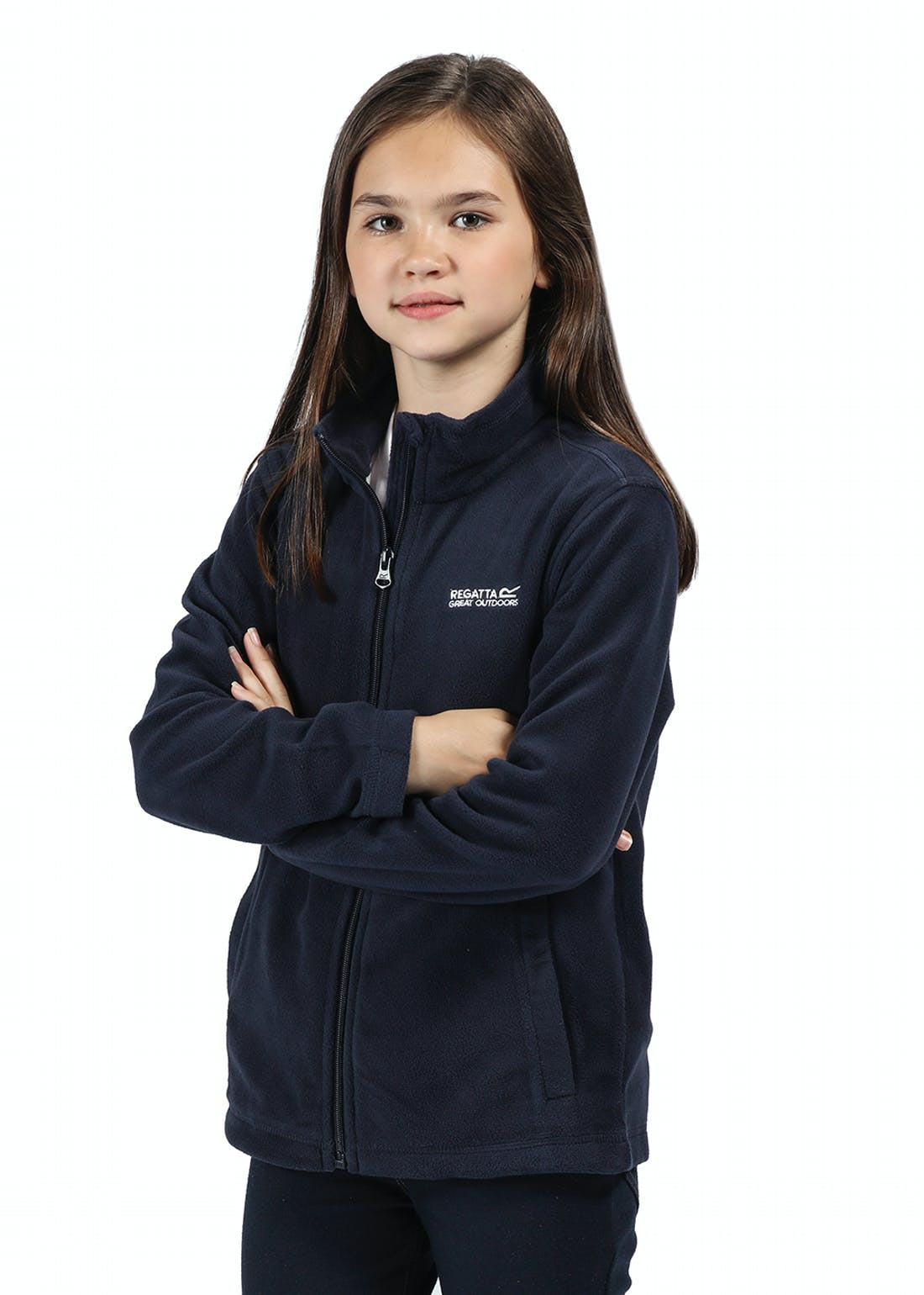 Kids Regatta Navy King Fleece (3-13yrs)