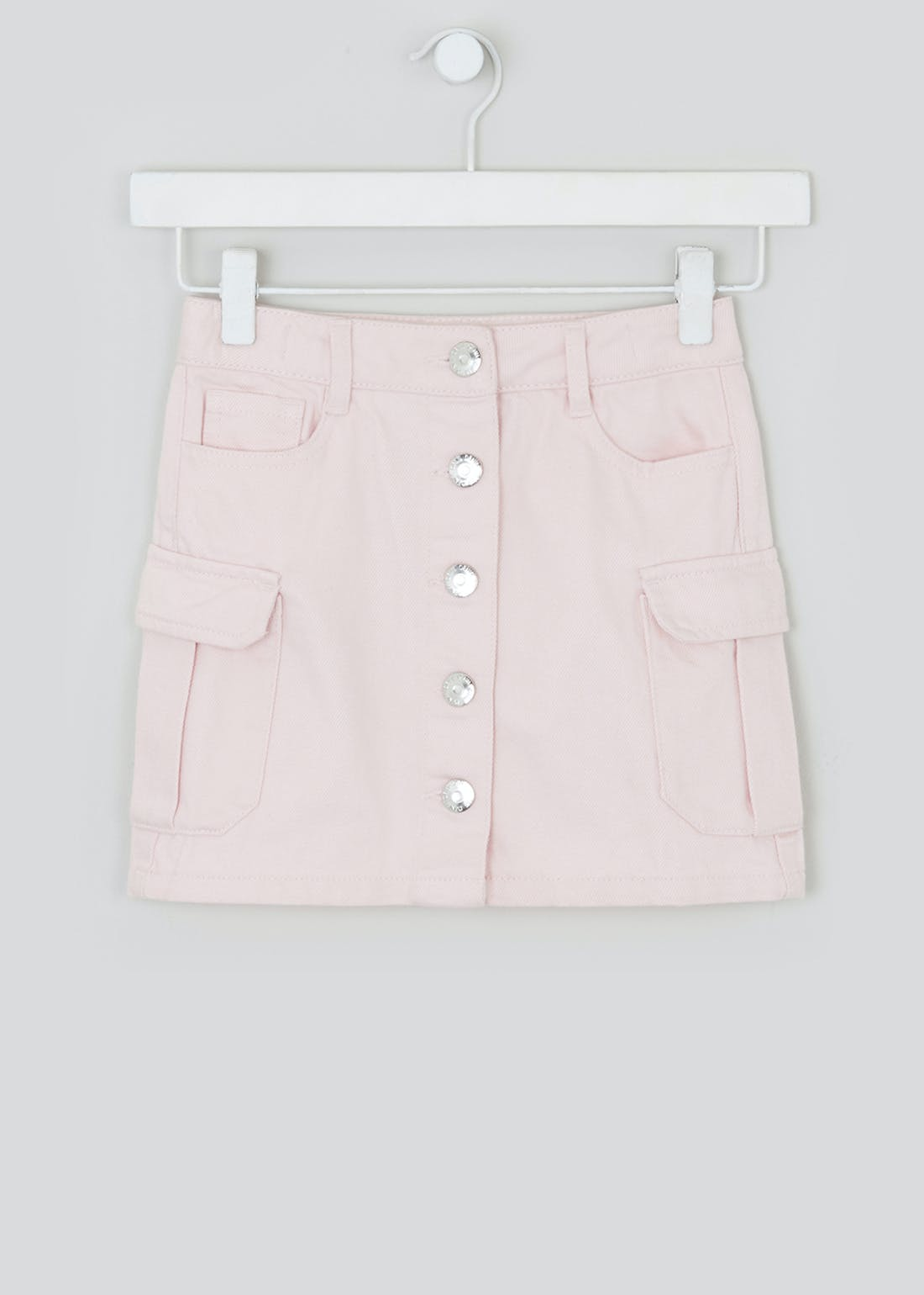 Girls Denim Cargo Skirt (4-13yrs)