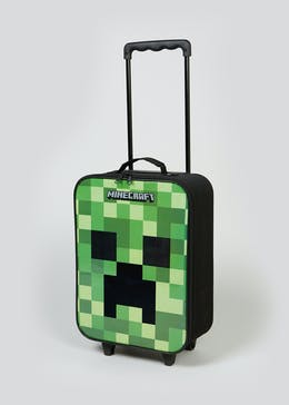 Kids Minecraft Cabin Suitcase