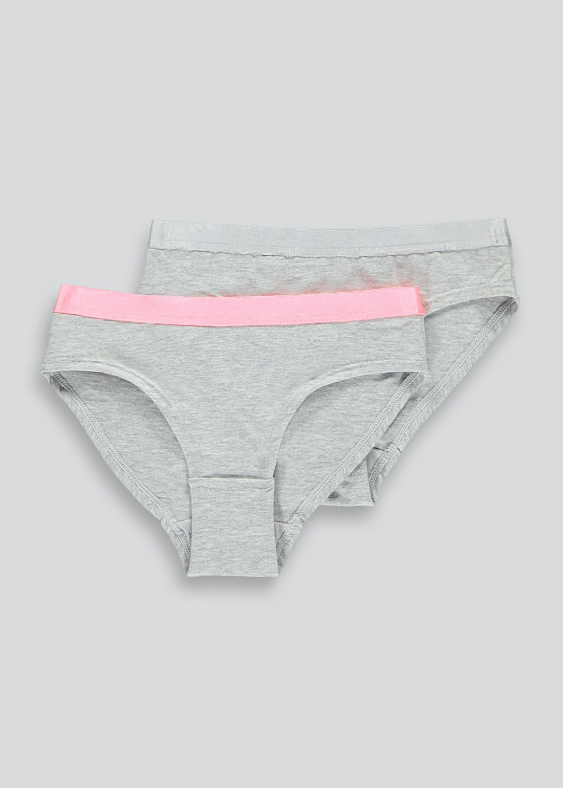 Girls 2 Pack Briefs (8-16yrs)